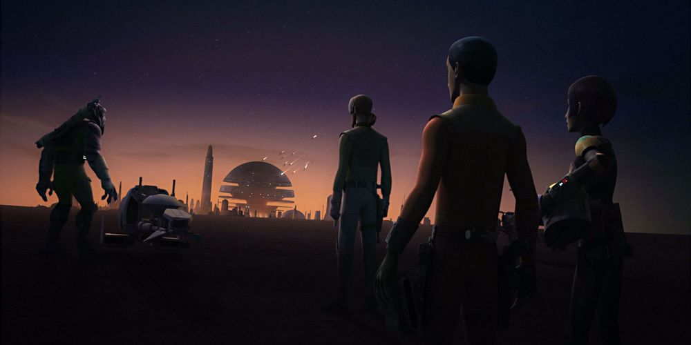 Star Wars Rebels Season 4 Holds Back With Its Midseason Finale
