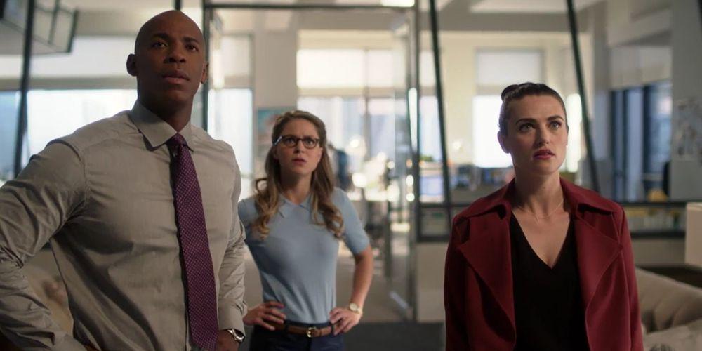 Supergirl Teased A Jimmy Olsen & Lena Luthor Romance
