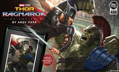 Thor: Ragnarok to Kickoff Sideshow's Marvel Cinematic Universe Art Series
