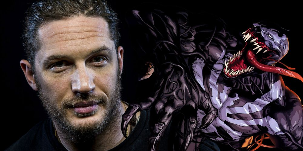Tom Hardy Celebrates Two Weeks of Filming on Venom