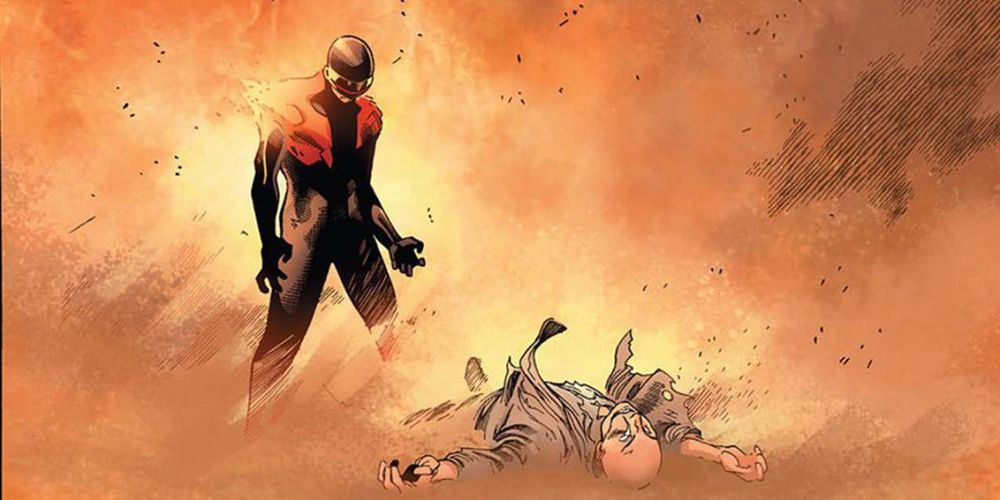 How Did Professor X Survive Being Killed By Cyclops In AvX?