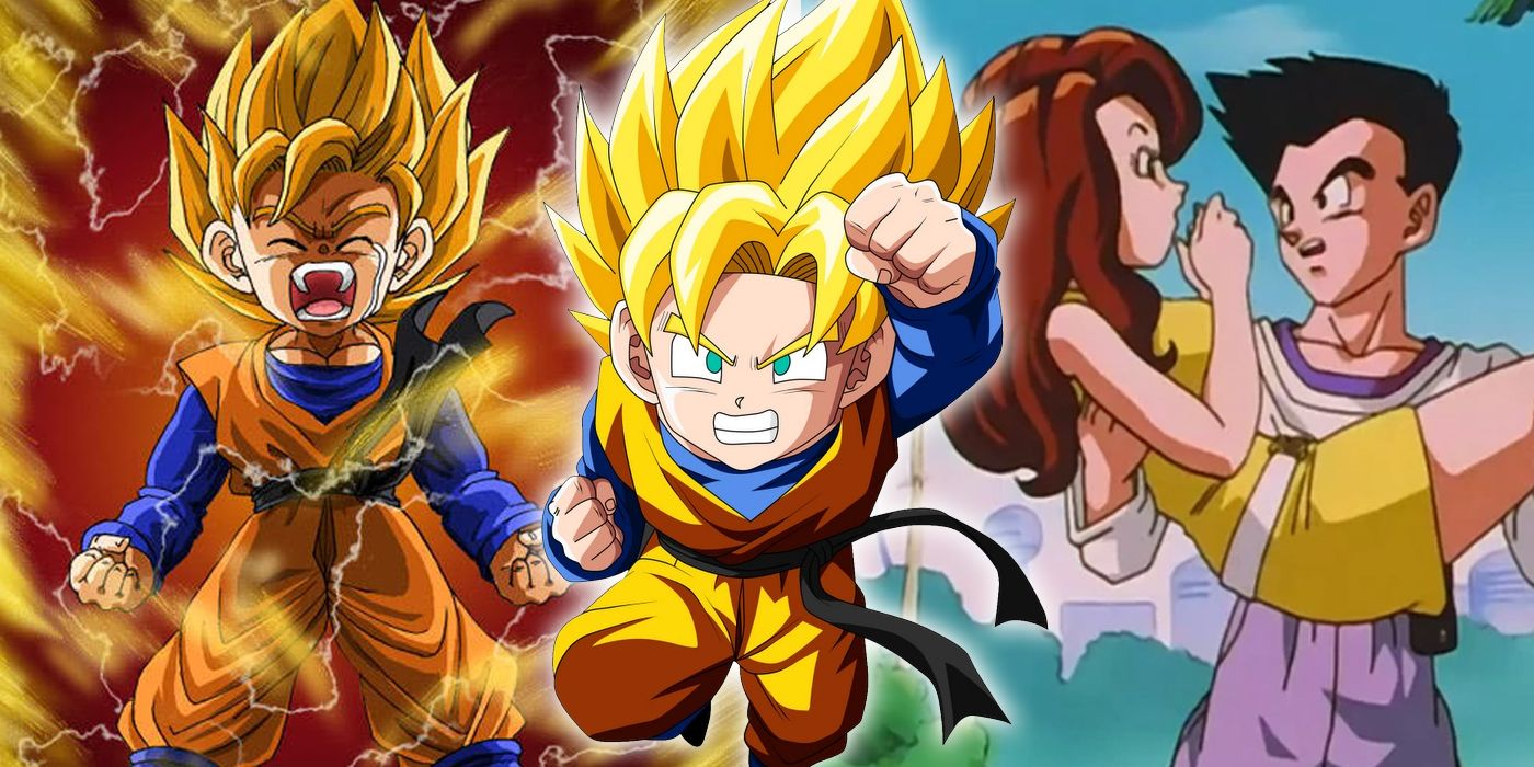 dragon ball z things you didn t know about goten screenrant