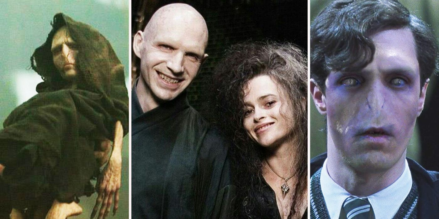 Ralph fiennes voldemort before and after