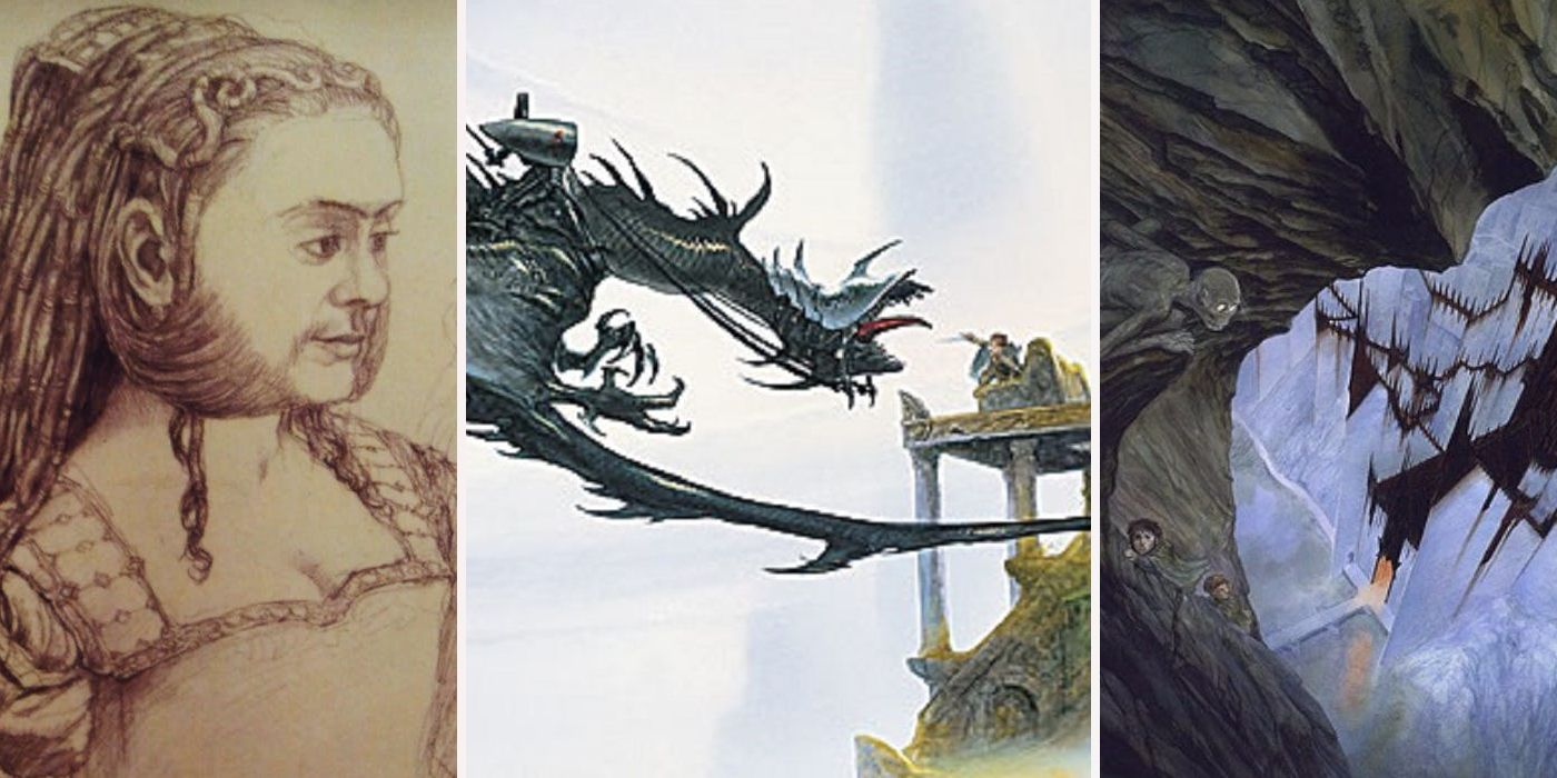 Lord Of The Rings Concept Art Designs Way Better Than What We Got