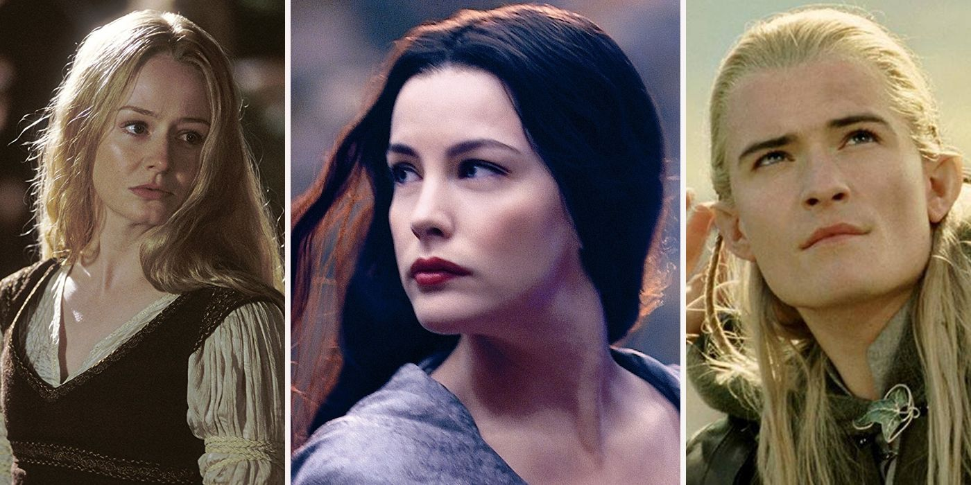 most attractive lord of the rings characters screenrant