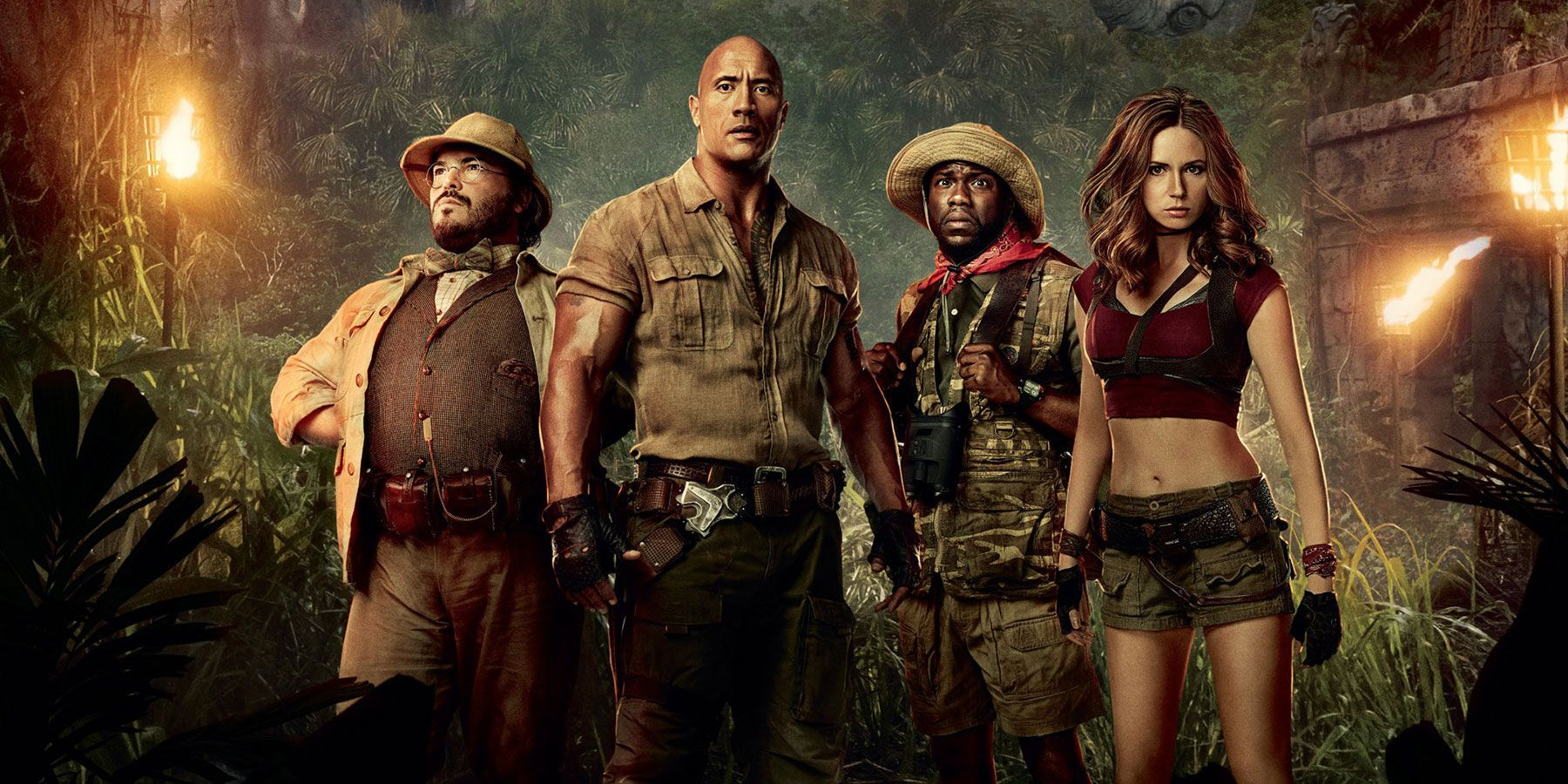 Jumanji: Welcome to the Jungle (2018) Full Movie