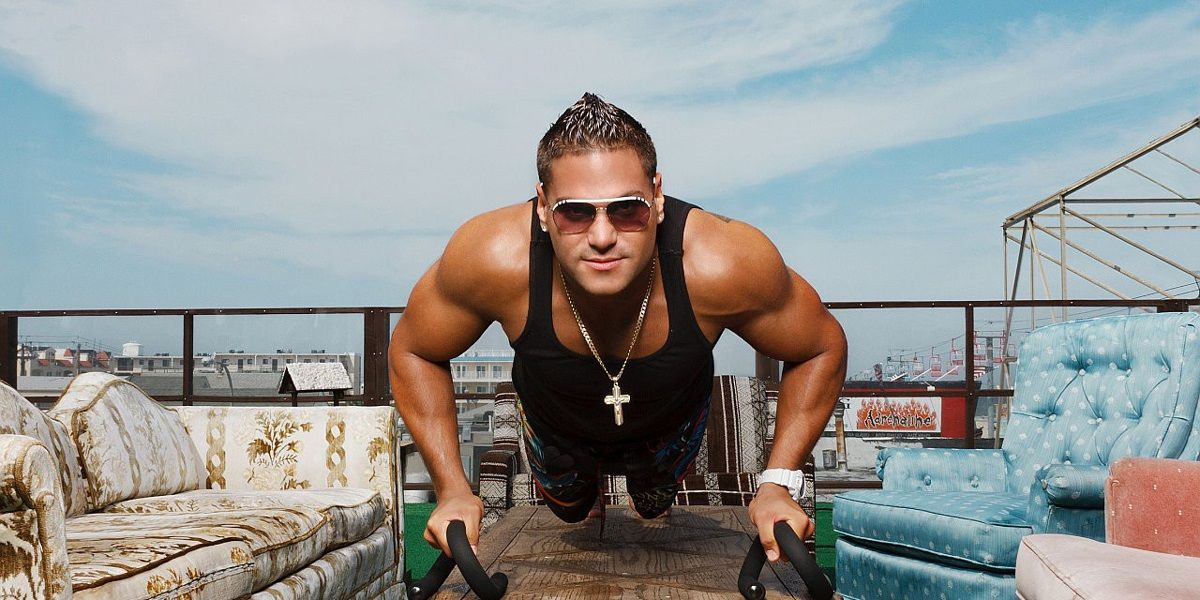 Jersey Shore's Ronnie Says He Working on Relationship with Jen, Despite Dark Past