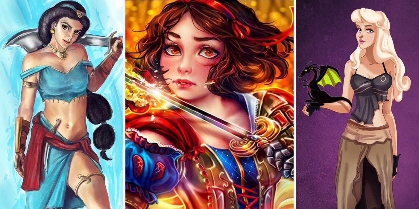 Crazy Disney Princess Redesigns Better Than The Movies