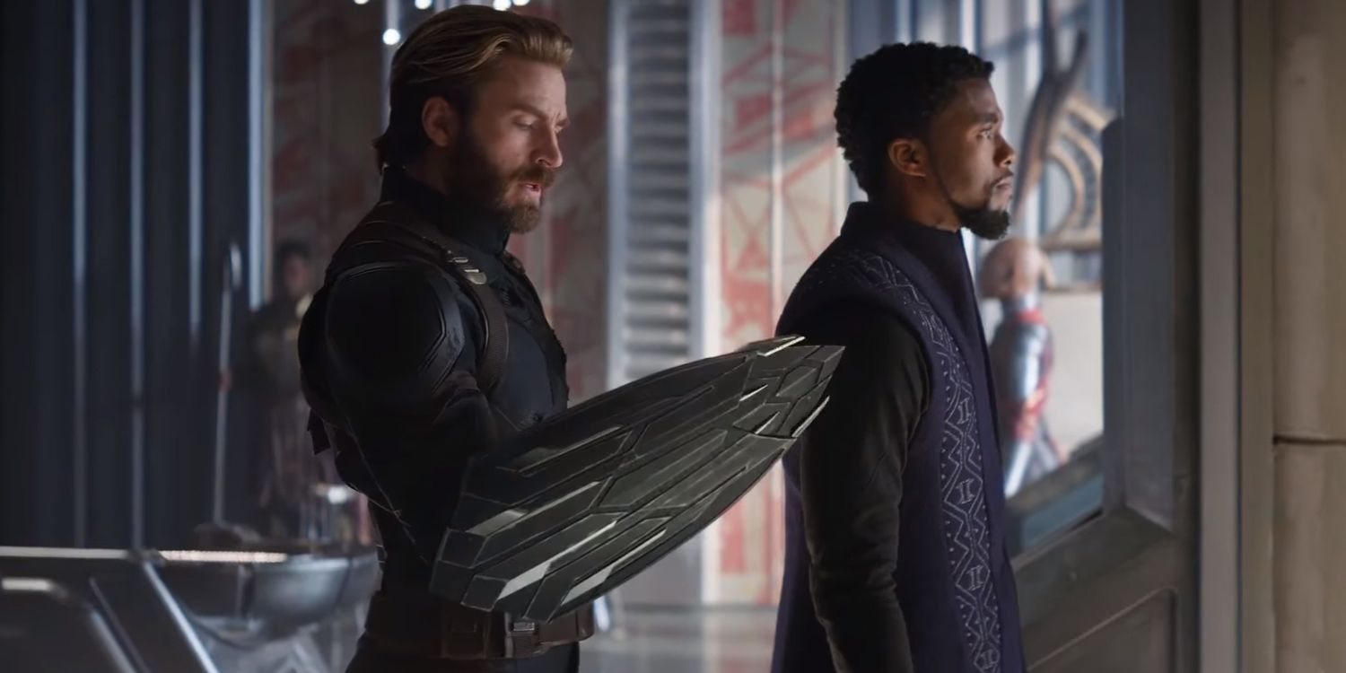 Captain America S Two New Wakandan Shields Confirmed