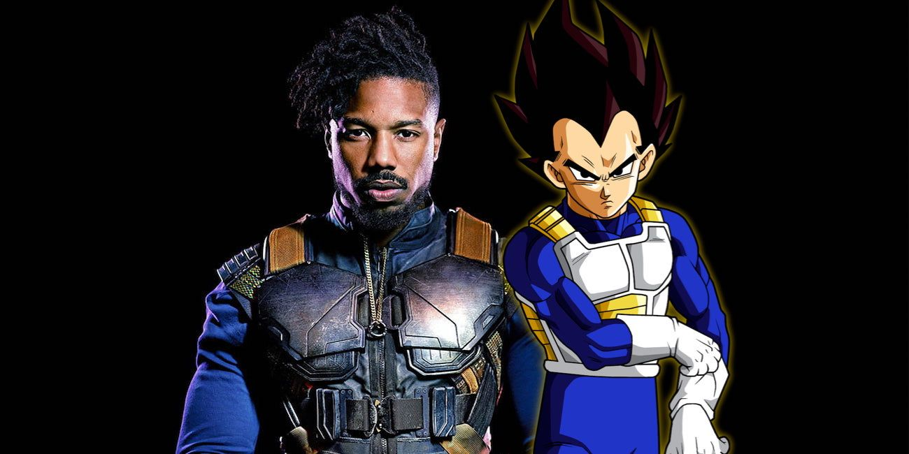 Killmonger's Wardrobe Is Very Similar To Dragon Ball's Vegeta