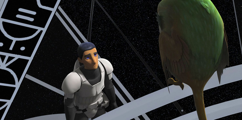 "Ezra Bridger (Taylor Gray) ""Star Wars: Rebels"""