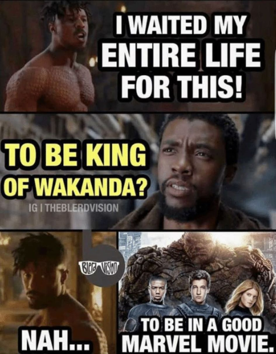 If youve seen the black panther trailers youve definitely heard erik killmongers infamous line i waited my whole life for this