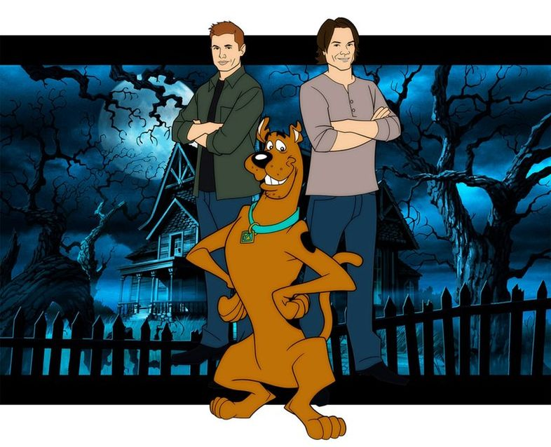 Supernatural - Page 21 Scooby-Doo-Supernatural-Crossover