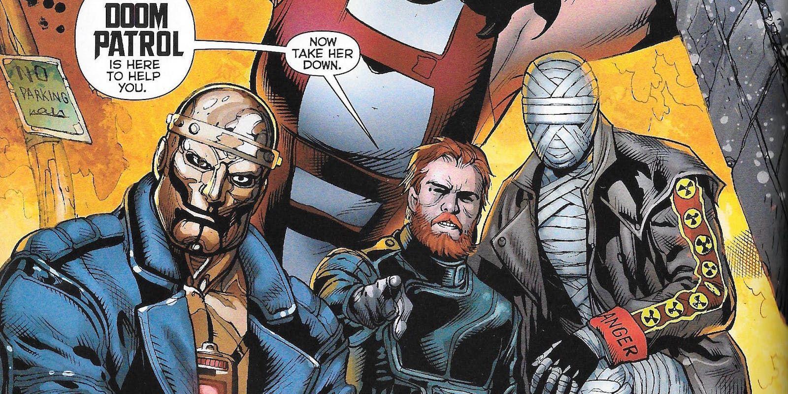 Doom Patrol Tv Show Casts Timothy Dalton As The Chief