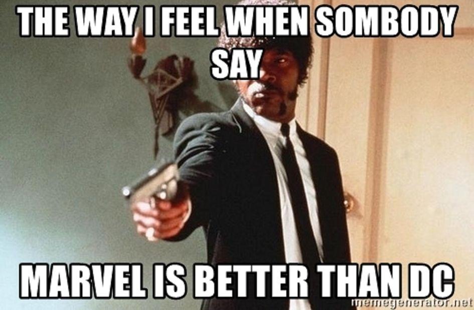 Dc-Marvel-Memes