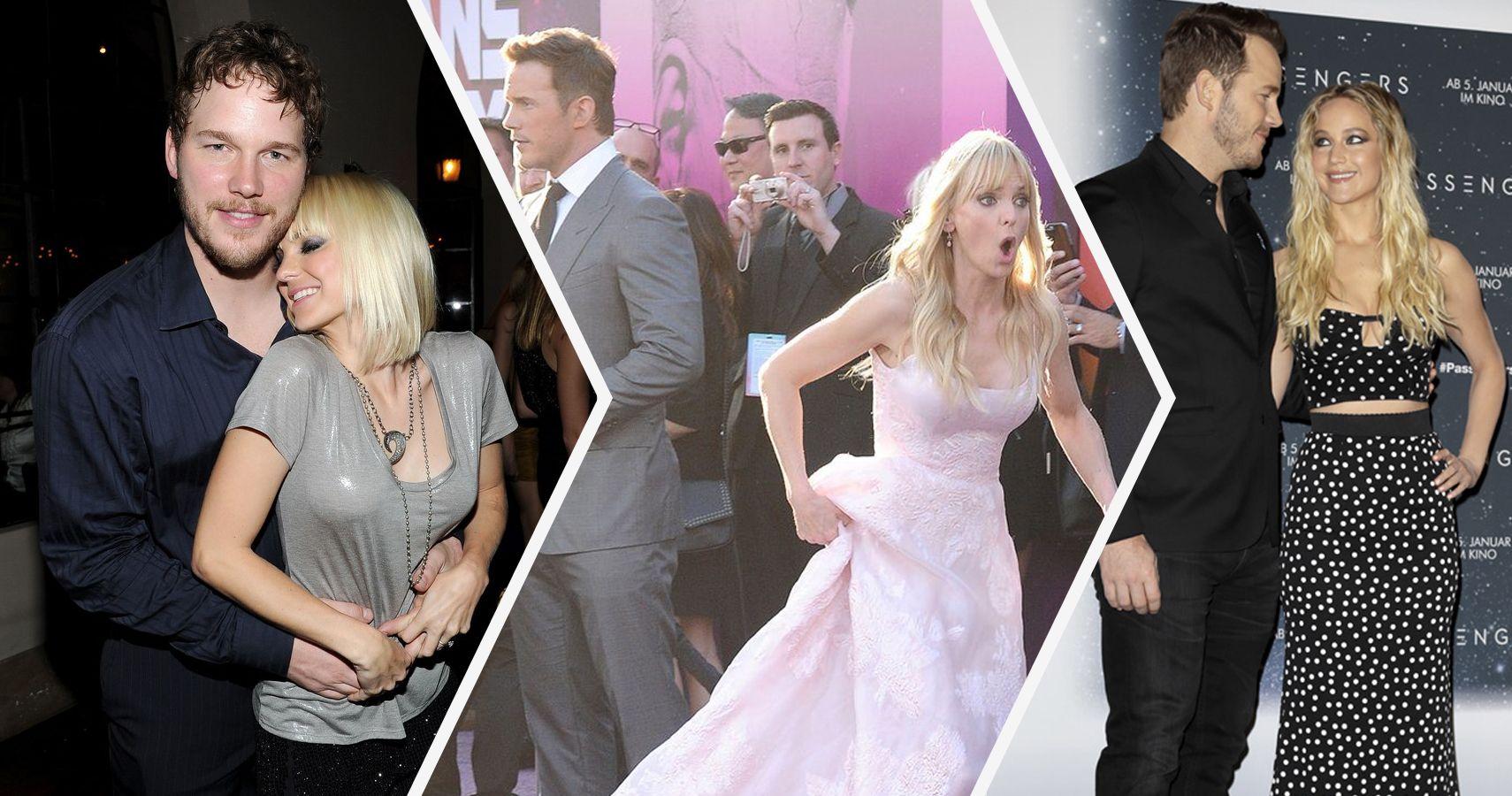 Chris Pratt and Anna Faris at Guardians of the Galaxy ...   Anna Faris Chris Pratt Wedding