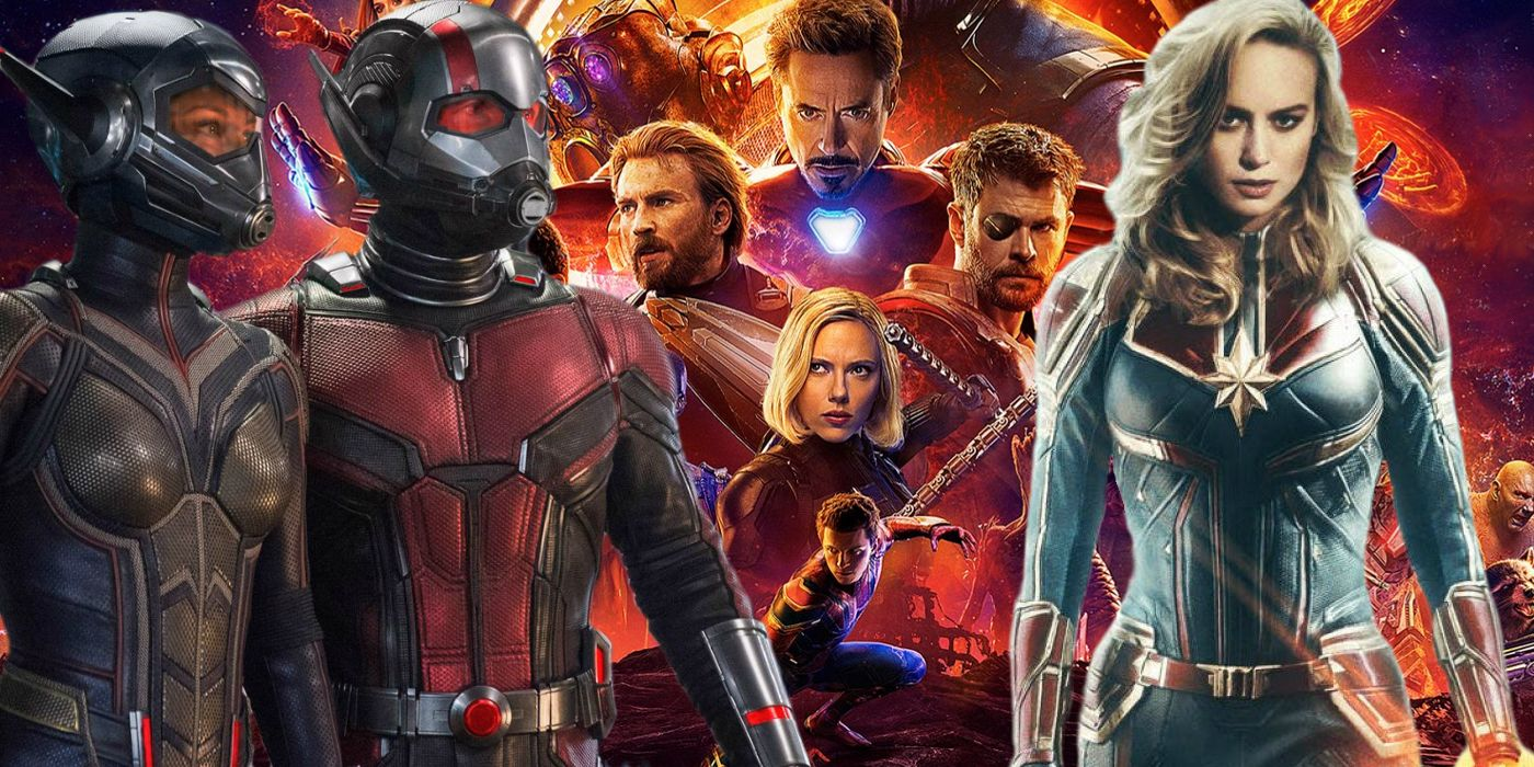 the next two marvel movies are set before avengers 3 screenrant - Avengers Marvel
