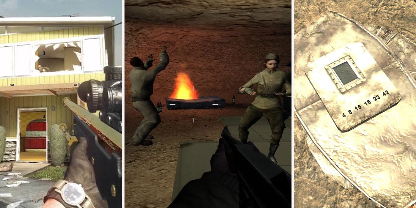 15 Hidden Areas You Completely Missed In Call Of Duty
