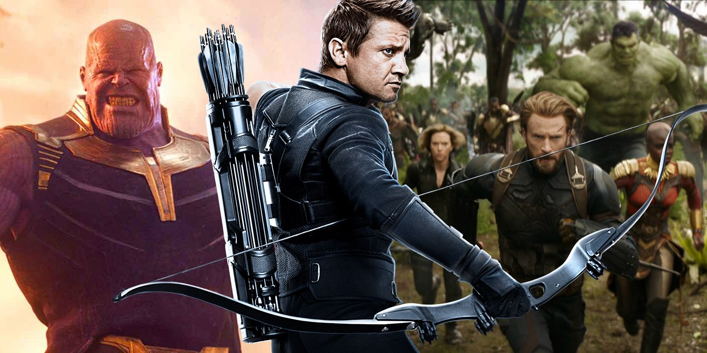 hawkeye standalone film reportedly in development with infinity war