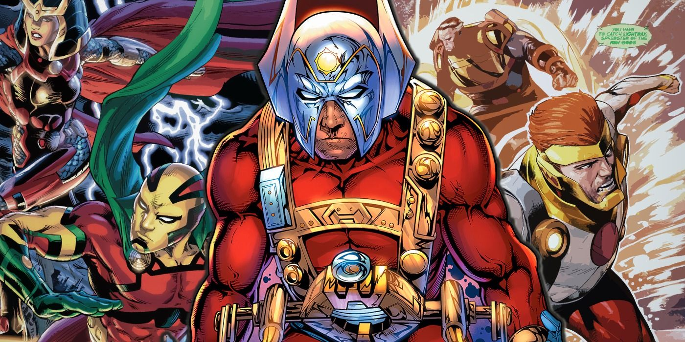 DC's New Gods: Everything You Need To Know | Screen Rant