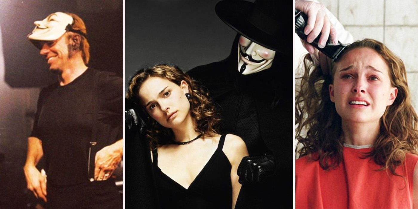 16 Crazy Things You Didn T Know About V For Vendetta Screenrant