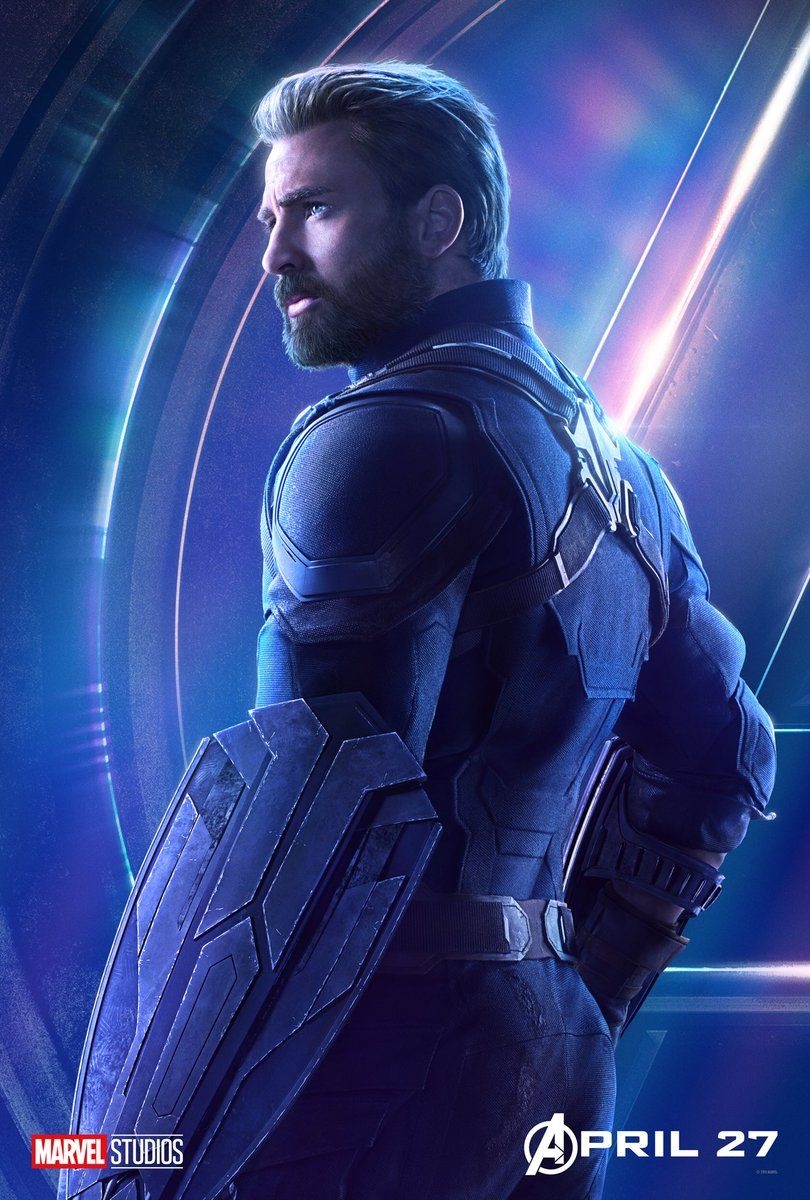 Avengers : Infinity War - Page 9 Avengers-Infinity-War-Captain-America-solo-poster