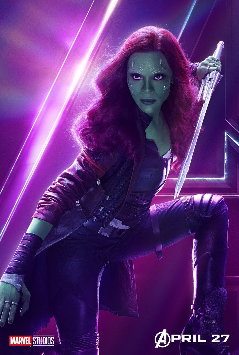 Avengers : Infinity War - Page 9 Avengers-Infinity-War-Gamora-solo-poster