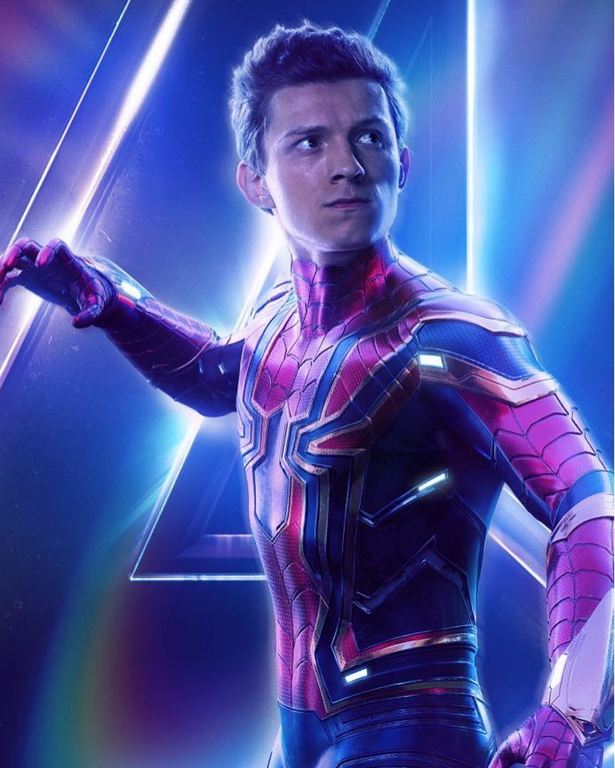 Avengers : Infinity War - Page 9 Avengers-Infinity-War-Iron-Spider-solo-poster