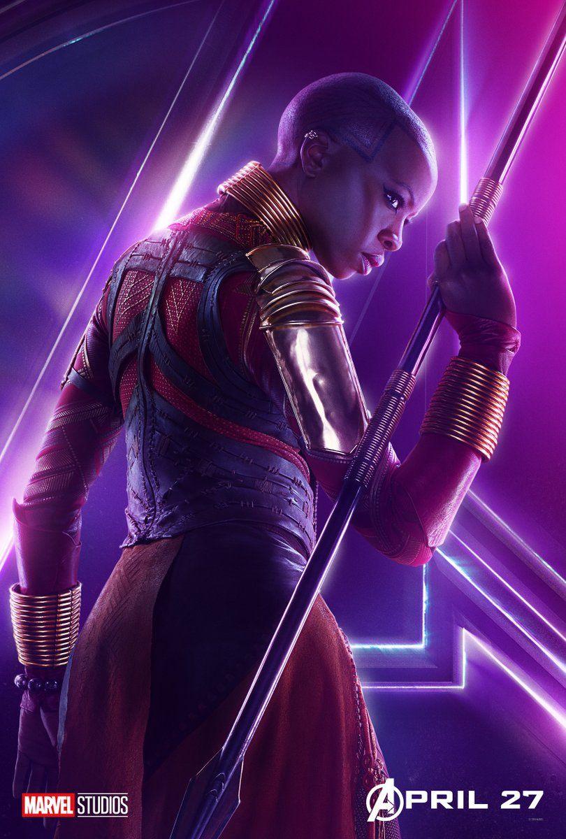 Avengers : Infinity War - Page 9 Avengers-Infinity-War-Okoye-solo-poster