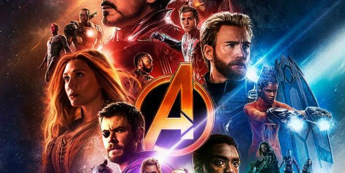 avengers infinity war poster leaves out thanos screenrant
