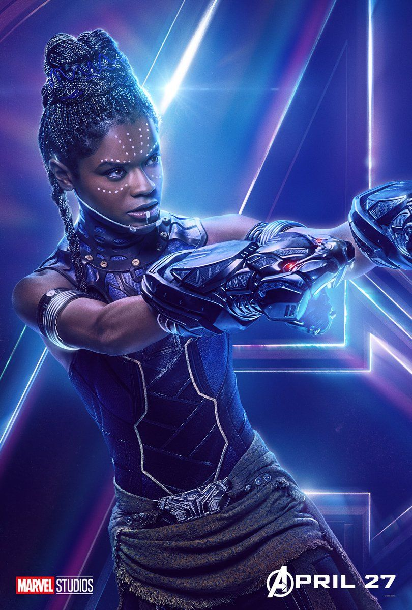 Avengers : Infinity War - Page 9 Avengers-Infinity-War-Shuri-solo-poster
