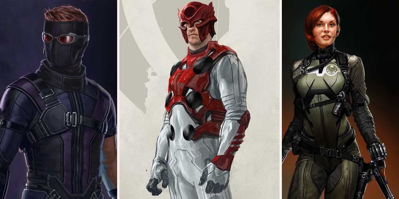 15 unused avengers concept art that would've completely changed the