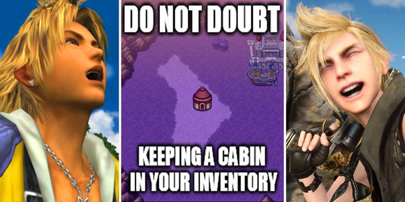 15 final fantasy memes that show the series makes no sense