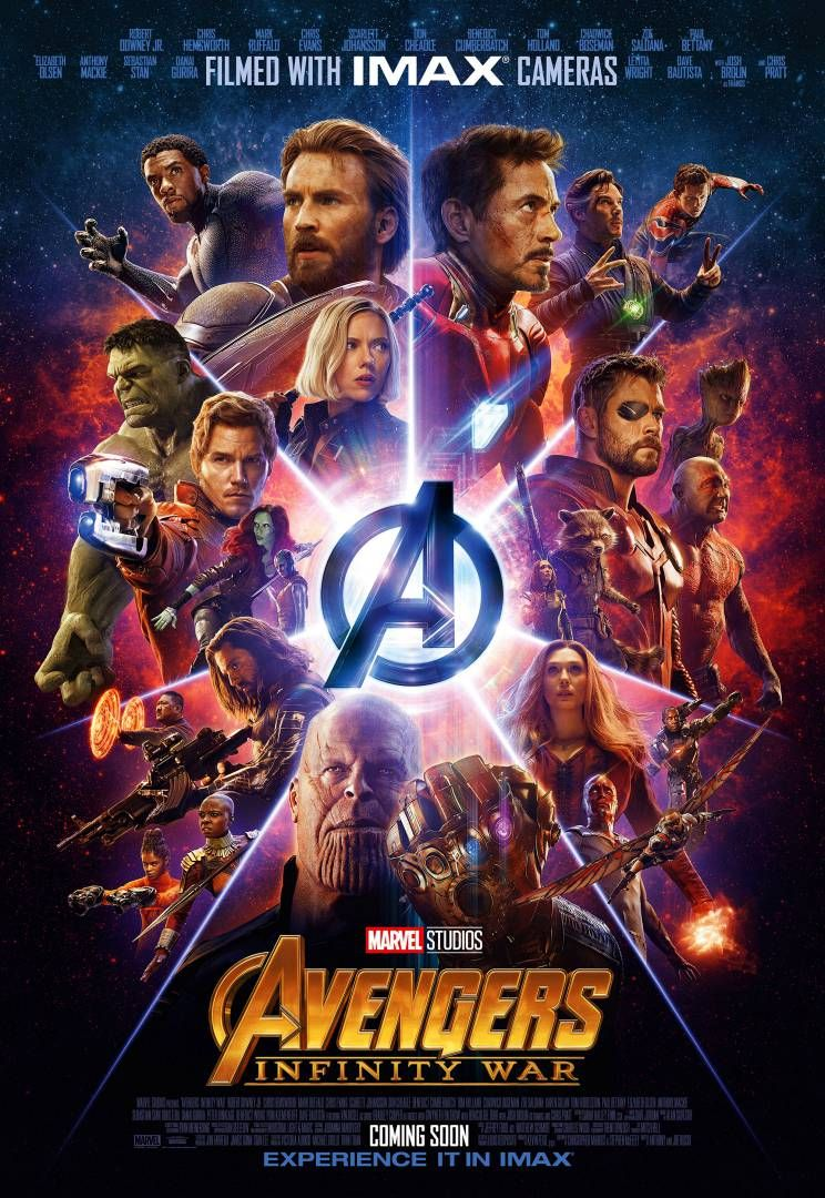 Avengers : Infinity War - Page 9 Infinity-War-IMAX-Poster