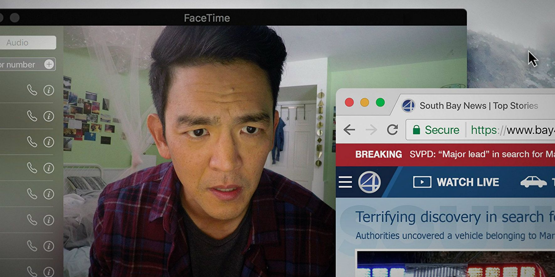 Searching Movie Trailer: John Cho's Daughter Is Missing