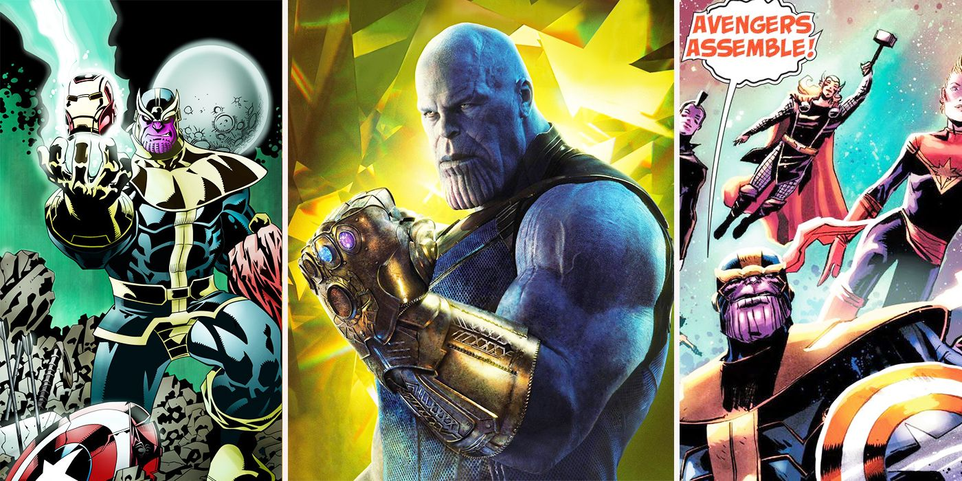 Infinity War 15 Crazy Things Thanos Did In The Comics That Well