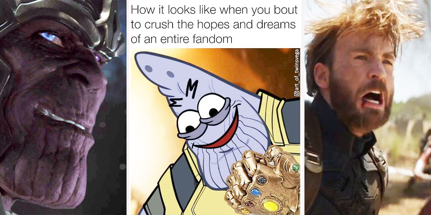 17 Thanos Memes That Prove The Avengers Are Doomed | ScreenRant