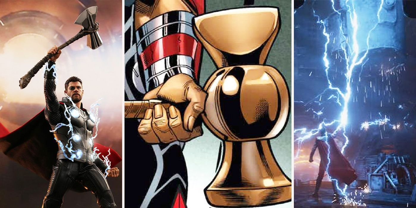 Avengers: 15 Crazy Facts About Thor's Stormbreaker | ScreenRant