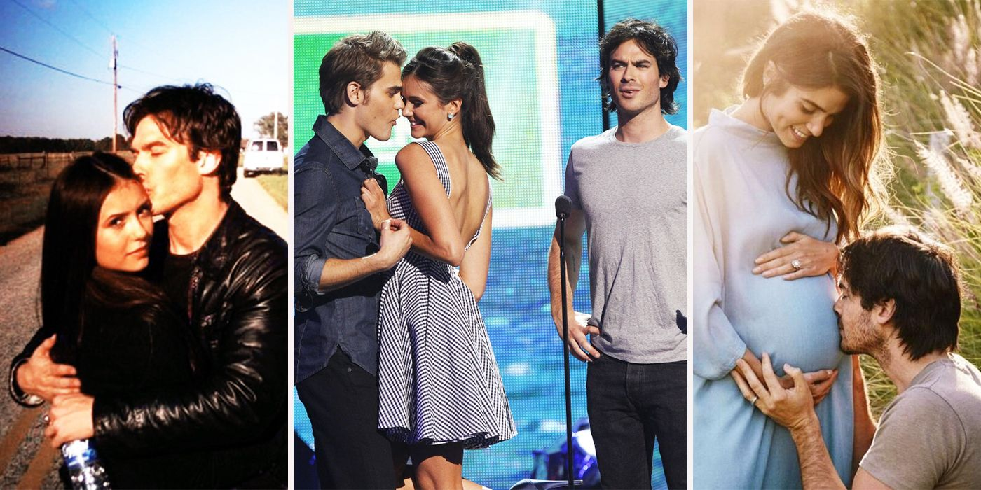 The best: vampire diaries ian somerhalder and nina dobrev dating