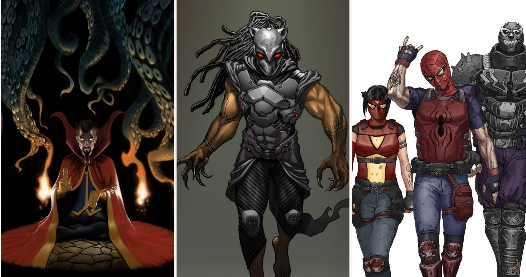 16 Marvel Superheroes Reimagined As Crazy Supervillains