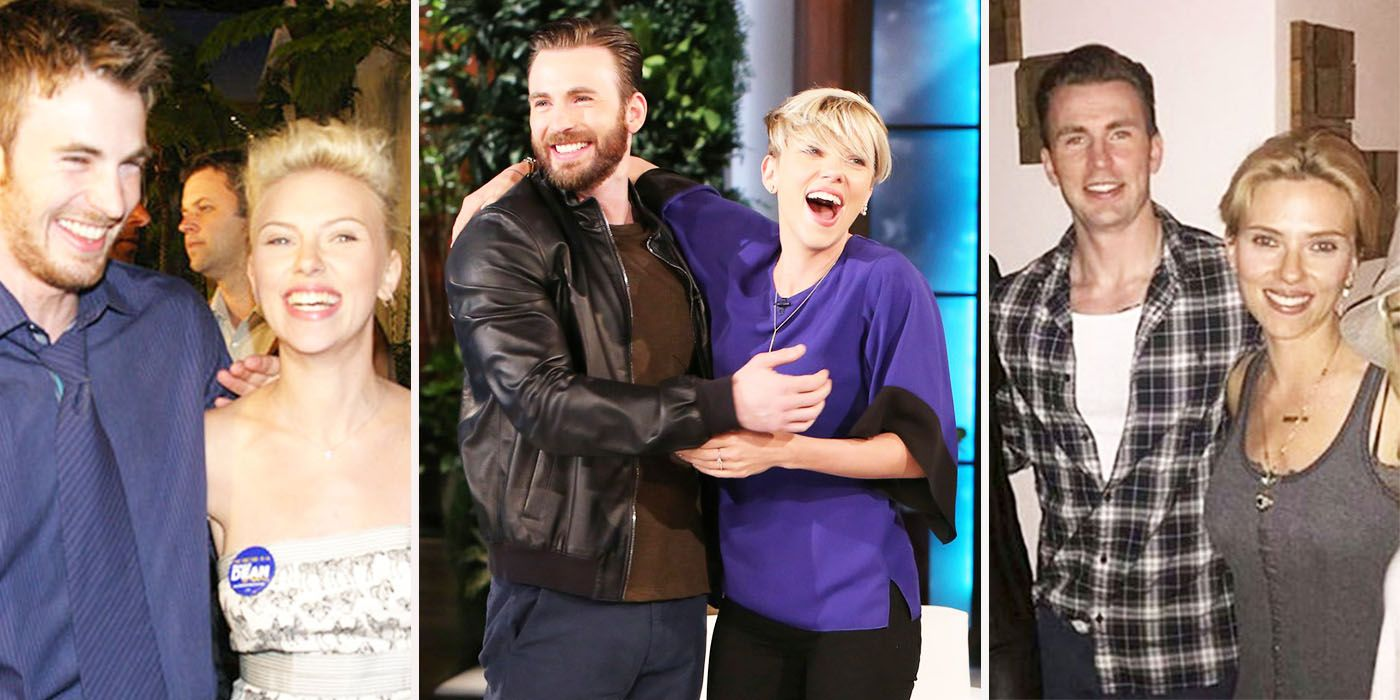 15 Secrets Behind Chris Evans And Scarlett Johansson's Friendship