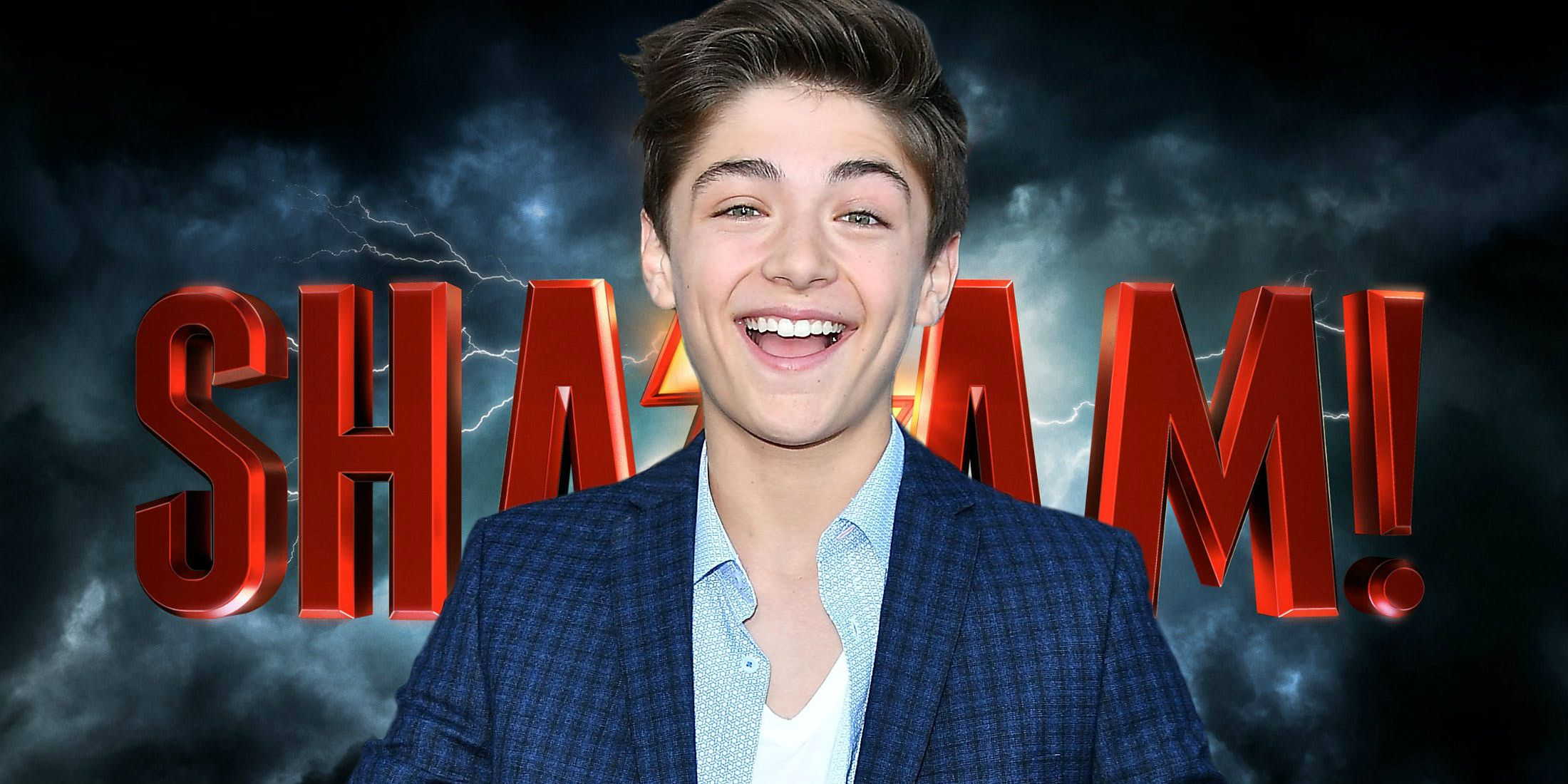 Image result for asher angel shazam