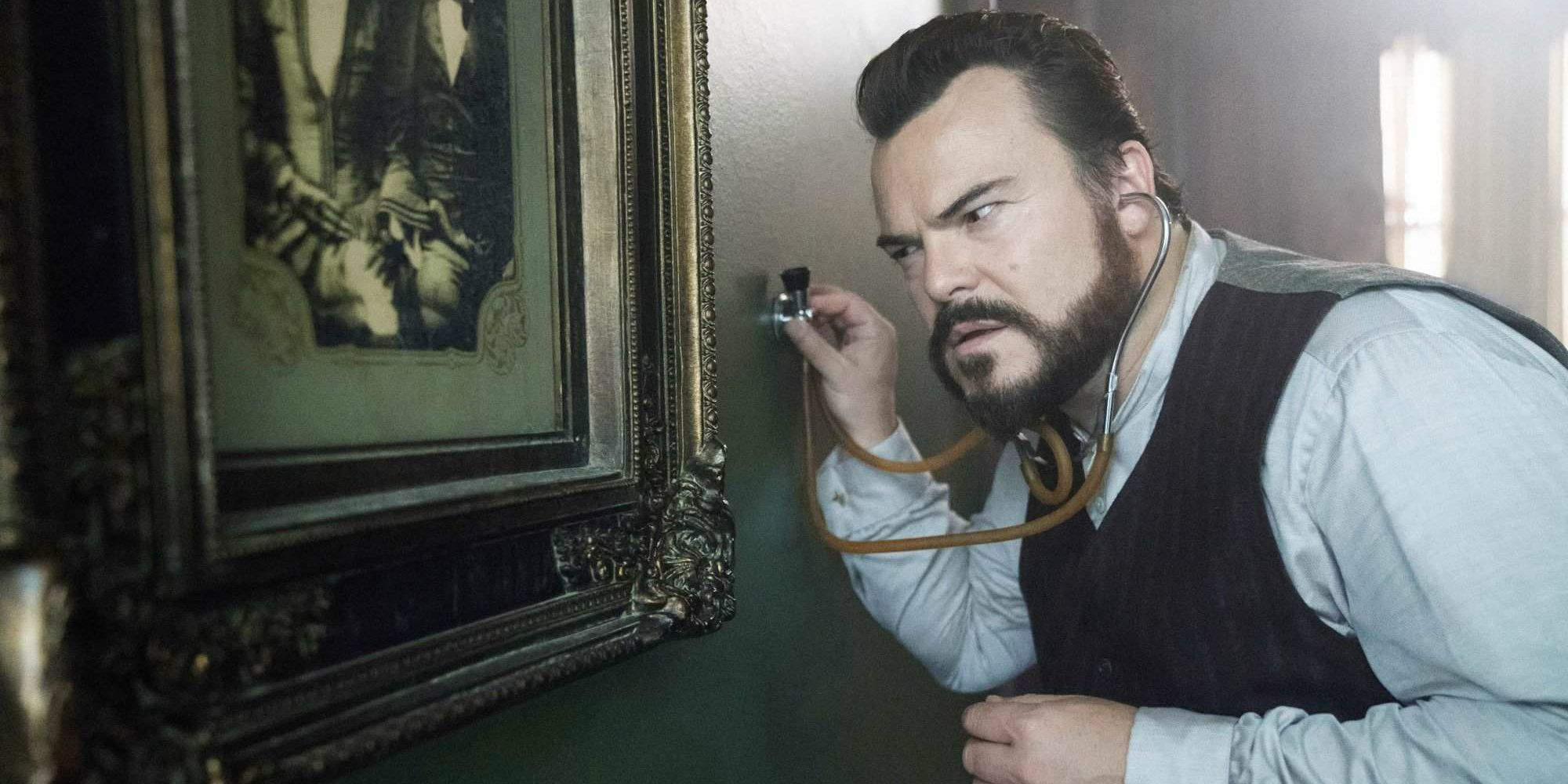 Jack Black S House With A Clock In Its Walls Gets A New