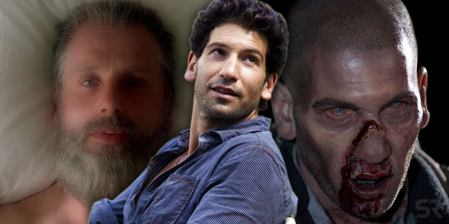 Jon Bernthal Shares Photo of Walking Dead Reunion With Andrew Lincoln