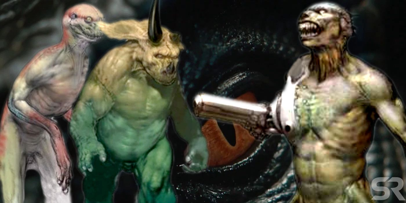 Jurassic World 3 Should Use The Human-Dino Concept Art