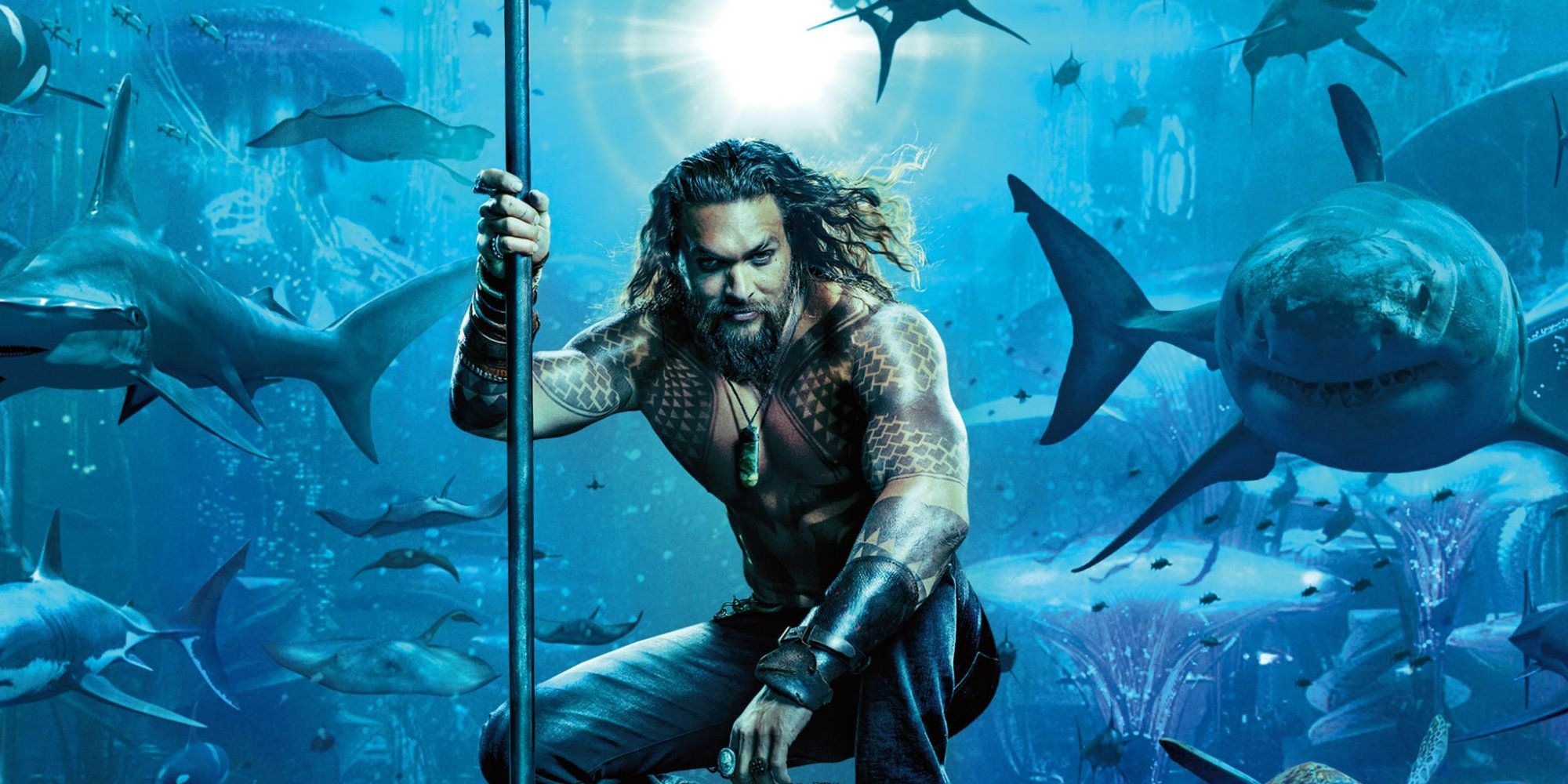 2018 Movie Posters: Aquaman Movie Poster Reveals Arthur Curry's Underwater Army