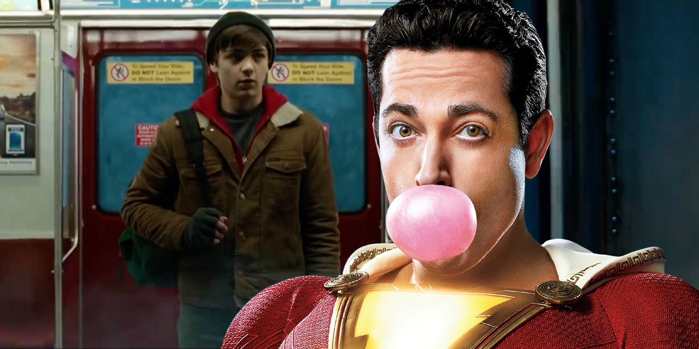 Image result for shazam and billy batson