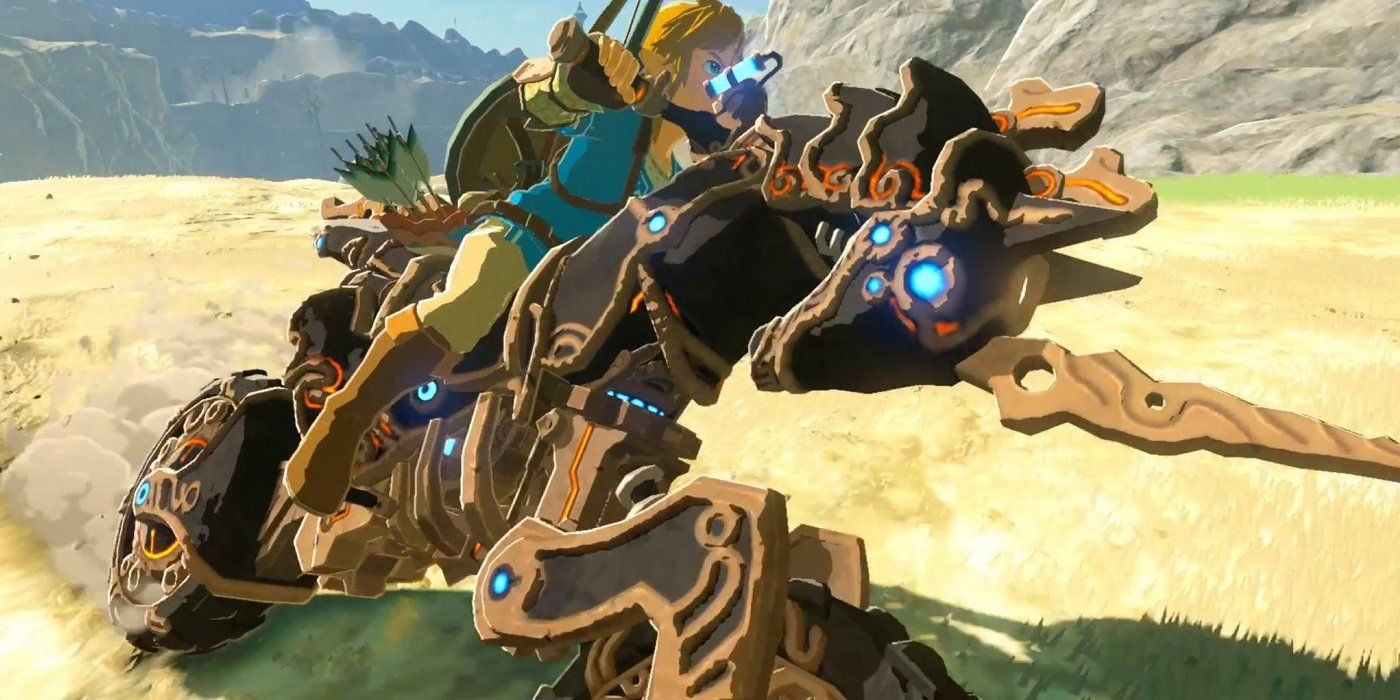 Breath Of The Wild Everything Link Can Ride That S Not A Horse