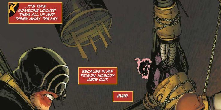 Teen Titans Comic Embraces F*** Batman Slogan, Too | Screen Rant