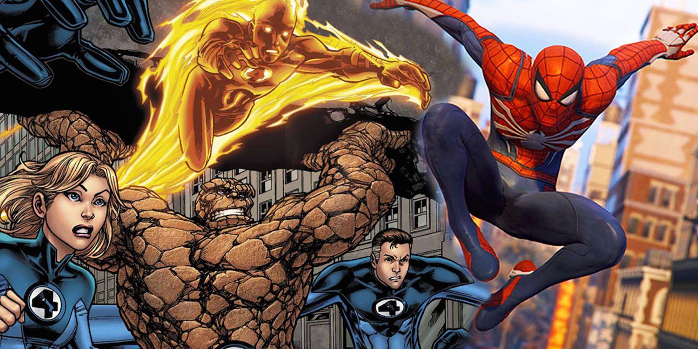 spider-man ps4 fantastic four ile ilgili görsel sonucu